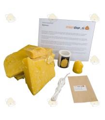Starterspakket 'Mini' bijenwaskaarsen maken
