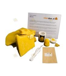 Starterspakket 'Basic' bijenwaskaarsen maken