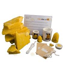 Starterspakket 'Easy' bijenwaskaarsen maken