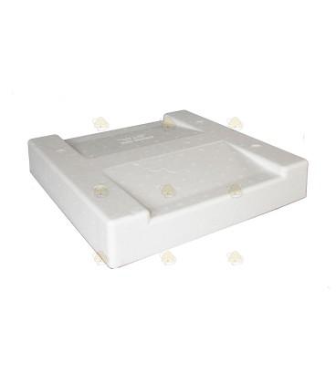 Styropor dak met voederruimte (Segeberger)