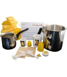 Starterspakket 'Deluxe' bijenwaskaarsen maken