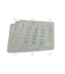 Liebig verdamp kartonnetjes / lont 6 stuks