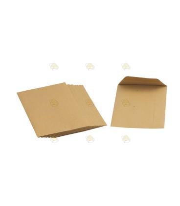 Papieren zakjes voor bloemenzaad per 10 stuks