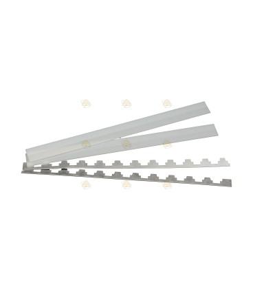 Segeberger 10 of 11 raams kunststof en aluminium beslag