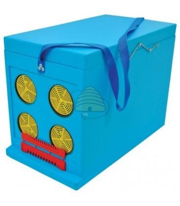Dadant blatt vervoersbox Azuurblauw