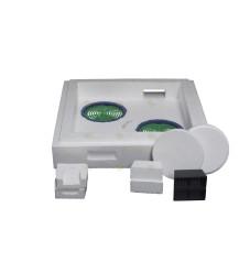 Miniplus kastje compleet (kunststof rand)