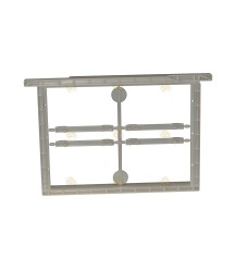 Kunststof MiniPlus raam