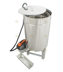 StoomMaster II + RVS vat (stoomwassmelter)