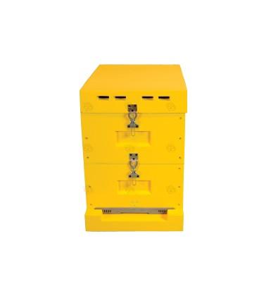 Langstroth bijenkast met broedkamers (kunststof)
