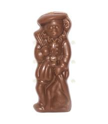 Honing melkchocolade pietje
