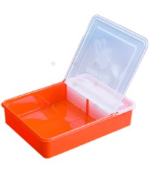 Voerbakje 0,8 liter oranje