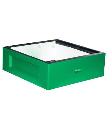 Honingkamer spaarkast groen gelakt polystyreen