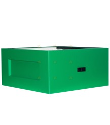 Broedkamer spaarkast groen gelakt polystyreen