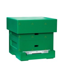 Spaarkast Easy BeeFun groen gelakt polystyreen