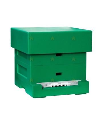 Spaarkast Easy groen gelakt polystyreen BeeFun