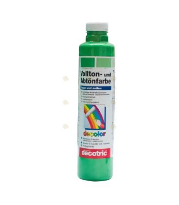 Lichtgroene verf per 750 ml voor styropor EPS