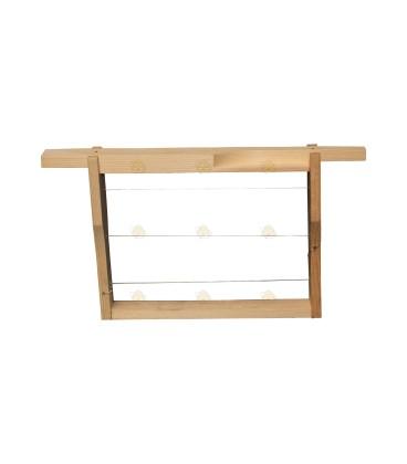 Miniplus ramen (hout) per stuk.