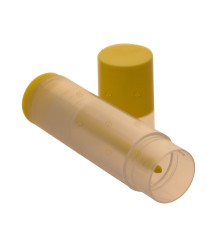 Lippenbalsem koker / tube, geel