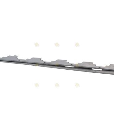 Afstandsrepen 10 raams aluminium 2 mm