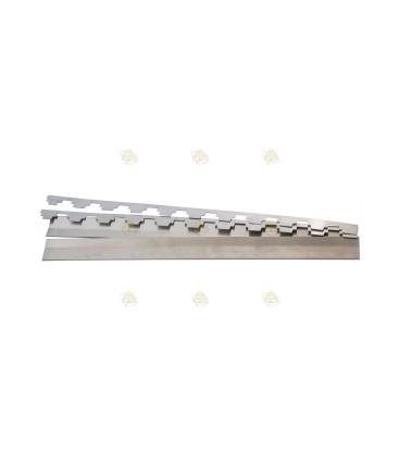 Set aluminium 10-raams beslag Segeberger