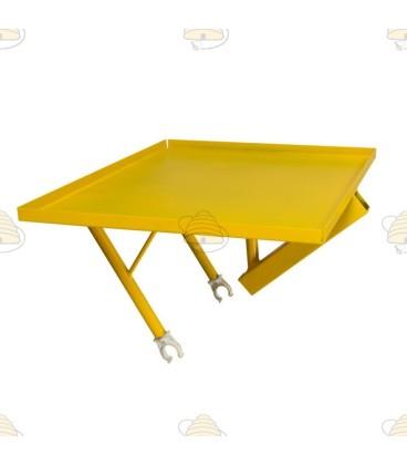 Trolley voor de bijenkast