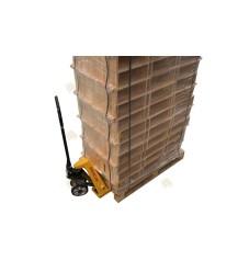 Pallet Simplex honingkamer gemonteerd grenen horizontaal (171 sets)