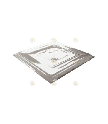 Segeberger voorgevormde kunststof dekplank 48,5 x 48,5 cm