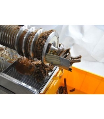 Ontzegelpersmachine 100 kg/u 400 V