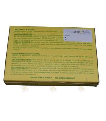 Nektapoll forte achterkant per 1 kg