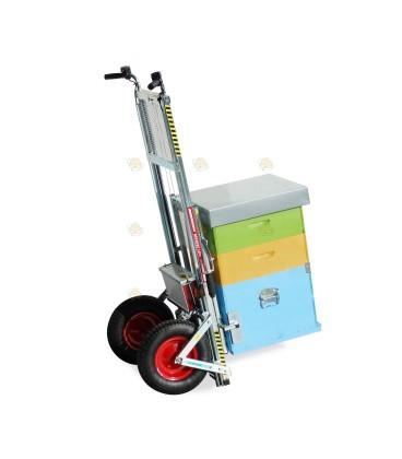 Steekwagen lift voor de bijenkast
