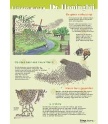 Uitzwermen van de honingbij poster