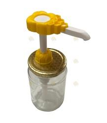 Honingpompje voor op honingpot