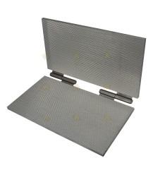 Kunstraatpers aluminium 5,1 mm
