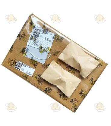 Kaarsenrol pakket met bijtjes