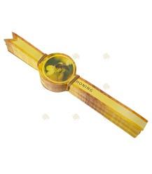 Sluitzegel geel, lang
