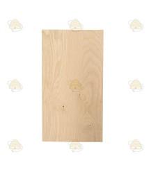 Zesramer dekplank hout 45,5 x 25 cm