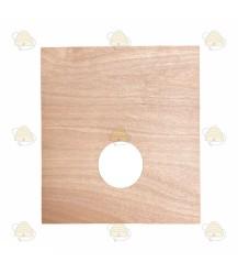 Simplex dekplank met voeropening voor binnenbak 45 x 40,5 cm