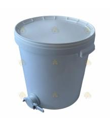 Aftapvat kunststof 33 liter