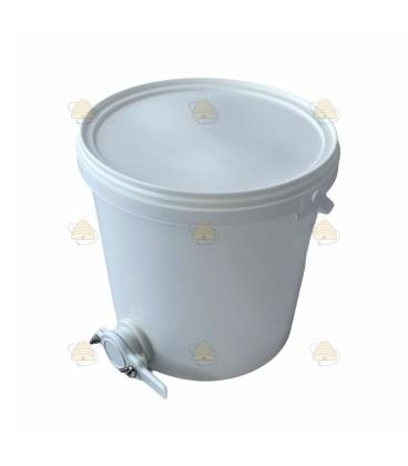 Aftapvat kunststof 10 liter