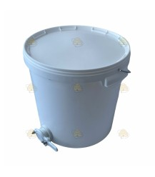 Aftapvat kunststof 18 liter