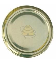 Deksel goudkleurig, 53 mm TO, 90 stuks