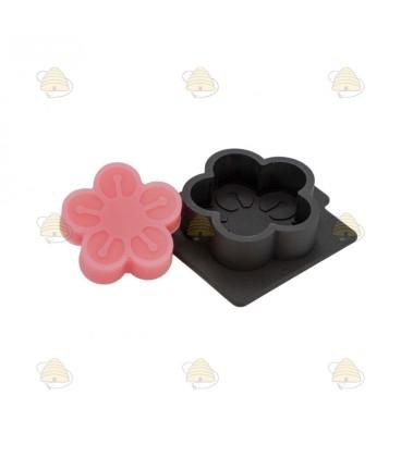 Gietvorm voor bloem zeepje