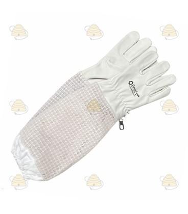 Handschoenen AirFree wit (leer met ventilatie)