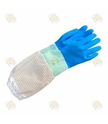 Handschoenen rubber 'AirFree' Deluxe blauw