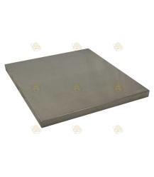 Dakbedekking aluminium, binnenmaat 466 x 516 mm (Premium)