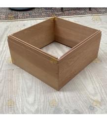 Tweedekans: Buitenrand broedkamer red cedar Simplex