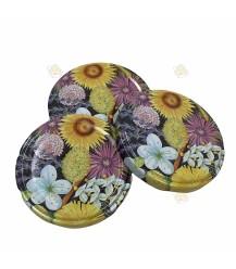 Fleurige bloemen, 63 mm TO deksel, 60 stuks