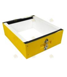 Honingkamer Langstroth polystyreen geel