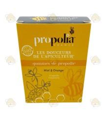 Propolispastilles - honing & sinaasappel