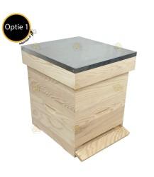 Spaarkast grenen Premium (2bk)